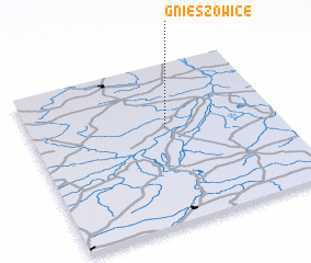 3d view of Gnieszowice