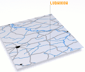3d view of Ludwików