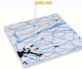 3d view of Daniłowo