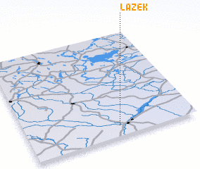 3d view of Łazek