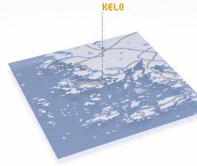 Kelo Finland map nonanet