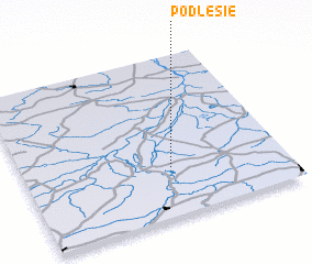 3d view of Podlesie