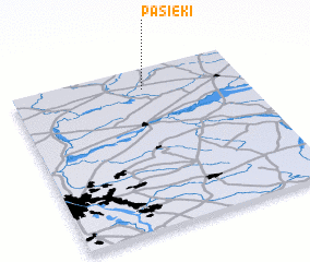 3d view of Pasieki