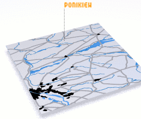 3d view of Ponikiew