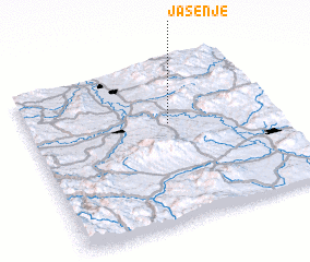 3d view of Jasenje