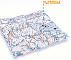 3d view of Plataniás