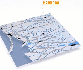 3d view of Ramučiai