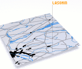 3d view of Lasomin