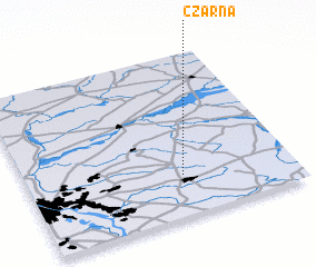 3d view of Czarna