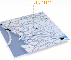 3d view of Veiviržėnai