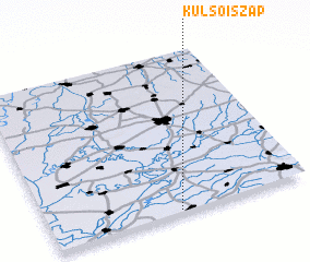 3d view of Külsőiszap