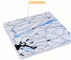 3d view of Ludwinowo