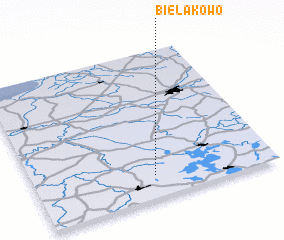 3d view of Bielakowo