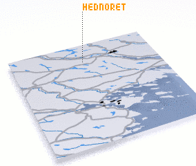 3d view of Hednoret