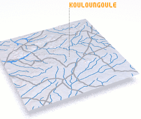 3d view of Kouloungoulé