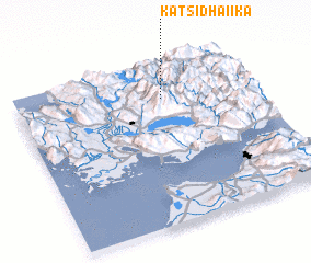 3d view of Katsidhaíika