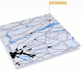 3d view of Gęsianka