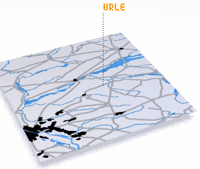 3d view of Urle