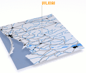 3d view of Vilkiai