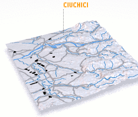 3d view of Ciuchici
