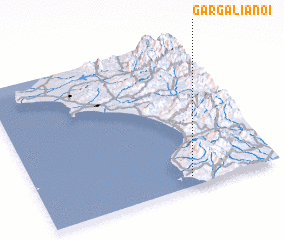 3d view of Gargaliánoi