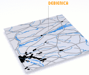 3d view of Dębienica