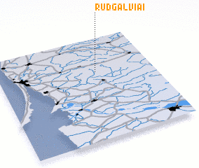 3d view of Rudgalviai