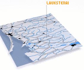 3d view of Laukstėnai