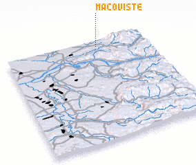 3d view of Macovişte