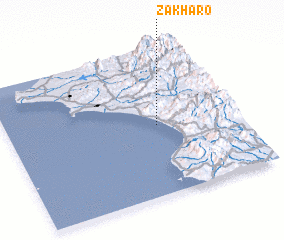 3d view of Zakháro