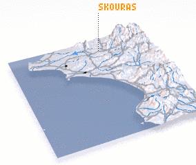 3d view of Skoúras
