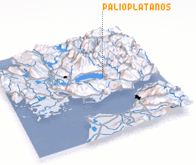 3d view of Palioplátanos