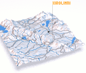 3d view of Xirolímni