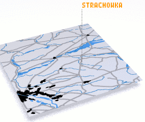 3d view of Strachówka