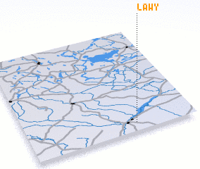 3d view of Ławy