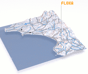 3d view of Flóka