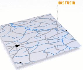 3d view of Kostusin