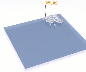 3d view of Pýlos