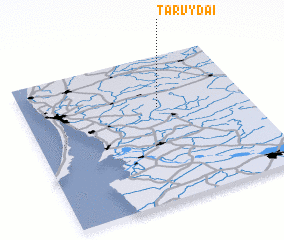 3d view of Tarvydai