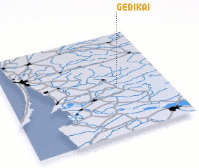 3d view of Gedikai