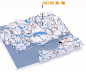 3d view of Asproúdhia