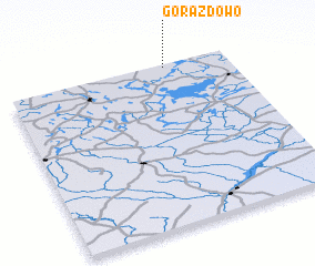 3d view of Gorazdowo