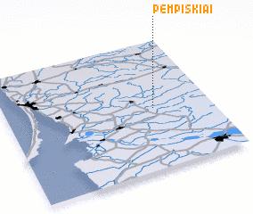 3d view of Pempiškiai