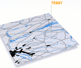 3d view of Trawy