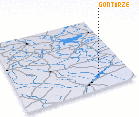 3d view of Gontarze