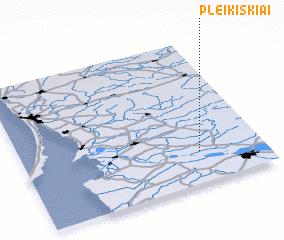3d view of Pleikiškiai