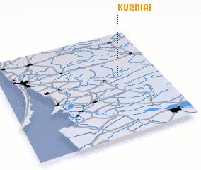3d view of Kurmiai