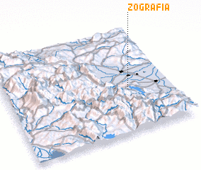 3d view of Zografiá