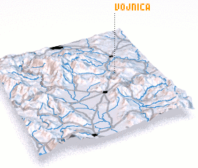 3d view of Vojnica