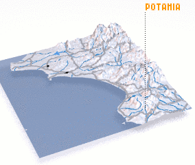 3d view of Potamiá